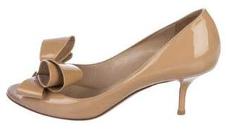 Valentino Patent leather Bow Pumps Patent leather Bow Pumps
