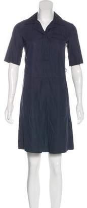 Prada Collared Mini Dress