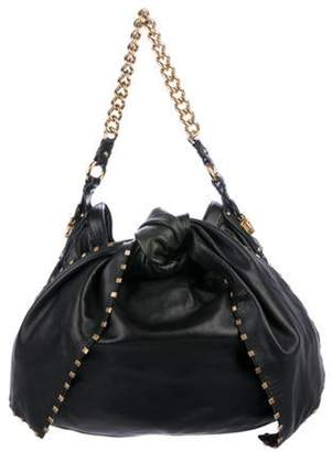 Marc Jacobs Leather Tie Blondie Bag Black Leather Tie Blondie Bag