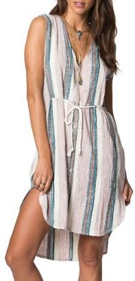 Women's O'Neill Zeezee Stripe Cotton Dress $59.50 thestylecure.com