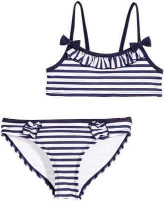 H&M Patterned Bikini - Blue