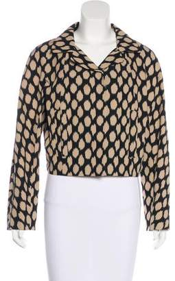 DKNY Printed Structured Jacket