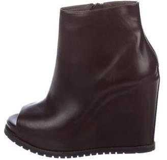 Brunello Cucinelli Platform Wedge Boots