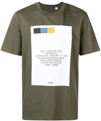 Oamc invitation print T-shirt