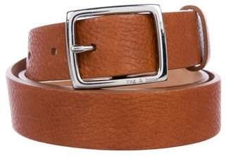 Rag & Bone Leather Waist Belt