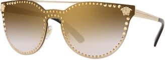 Versace Men's Metal-Studded Sunglasses