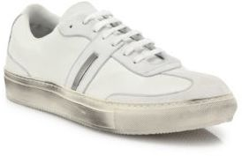Neil Barrett City Trainer Leather Low Sneakers