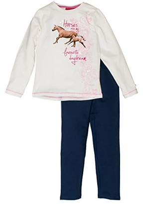Salt&Pepper Salt and Pepper Girl's Horses Photoprint Clothing Set