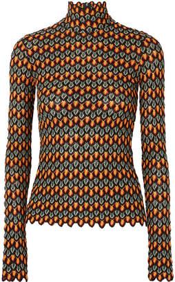Beaufille - Mena Crochet-knit Sweater - Orange