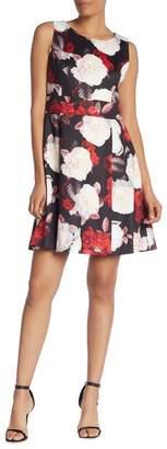 Nine West Sleeveless Floral Dress