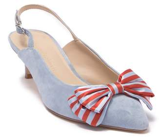 Cupcakes And Cashmere Jevlyn Bow Slingback Pump