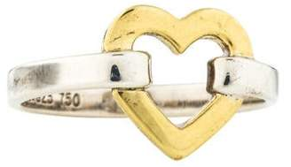 d8fc9866b Tiffany & Co. Two-Tone Heart Ring
