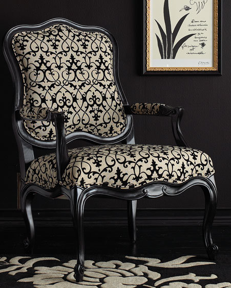 Flocked Chair