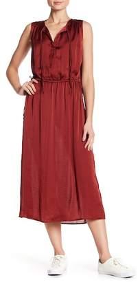 Kenneth Cole Triple Tie Column Dress