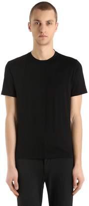 Prada Stretch Cotton Jersey T-Shirt