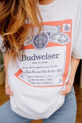 Junk Food Clothing Budweiser Classic Tee