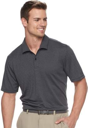Equipment Fila Sport Golf Men's FILA SPORT GOLF Regular-Fit Pro Core Feeder-Striped Performance Polo