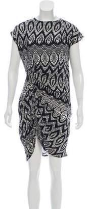 Thakoon Silk Printed Mini Dress