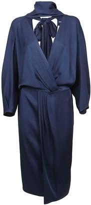 Diane von Furstenberg Front Tie Wrap Dress