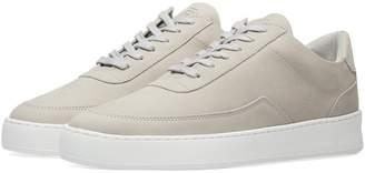Filling Pieces Low Top Mondo Plain Nardo Nubuck Sneaker