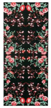 Alexander McQueen Floral silk scarf