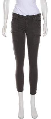 Joie Park Skinny Mid-Rise Jeans