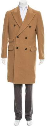 Marc Jacobs Double-Breasted Camelhair Coat w/ Tags