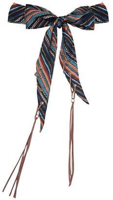 Laundry by Shelli Segal Chevron Stripe Necktie Scarf