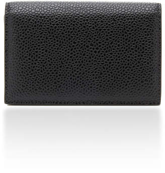 Thom Browne Leather Business Card Case