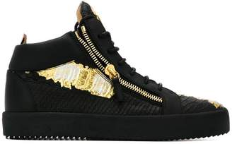 Giuseppe Zanotti Design zipped embellished sneakers