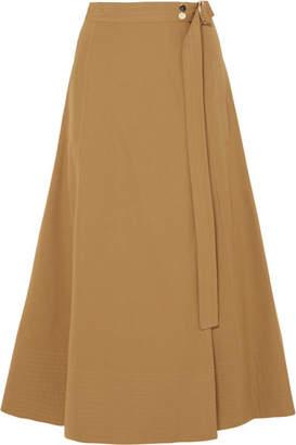Vanessa Bruno Cotton-blend Twill Wrap Skirt