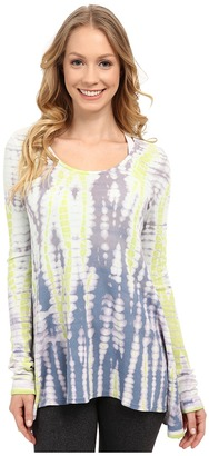 Hard Tail Long Sleeve Frolic Tee $114 thestylecure.com