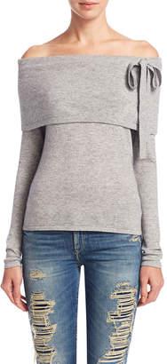 Sea Bleu Wool Bow Sweater