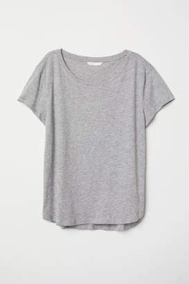 H&M Cotton T-shirt - Gray