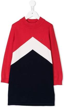 Tommy Hilfiger Junior colour-block sweatshirt dress