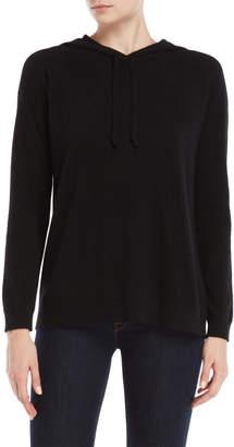Vertical Design Cashmere Pullover Hoodie