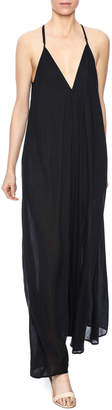 Charlie Joe Long Black Dress