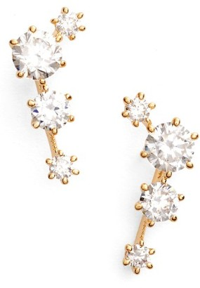Women's Nadri Edwardian Ear Crawlers $45 thestylecure.com
