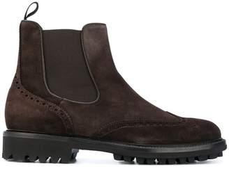 Baldinini brogue ankle boots