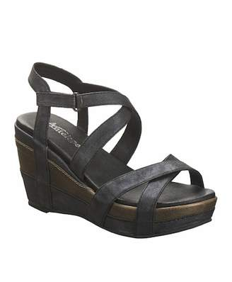 Antelope Crisscross Wedge Sandal