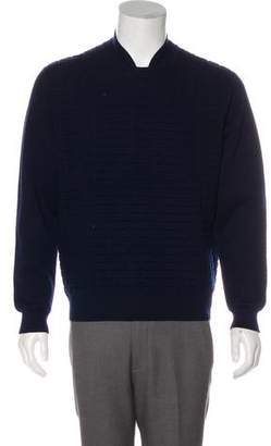 Opening Ceremony Grid Knit Sweater