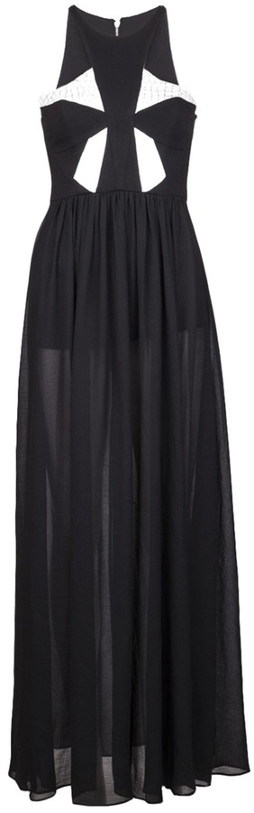 Bless'ed Are The Meek Blessed Are The Meek 'Armour' maxi dress