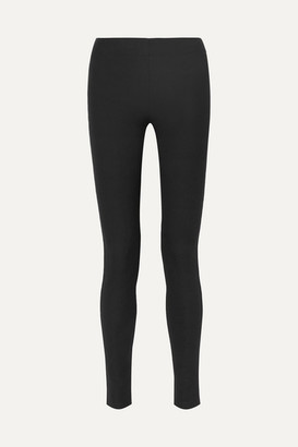 Joseph Stretch-garbardine Leggings - Black