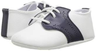 Janie and Jack Saddle Crib Shoes Boys Shoes