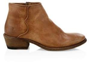 Frye Logo Ankle Boots
