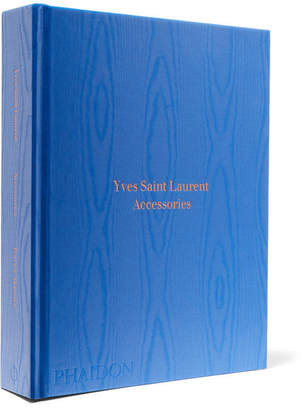 Phaidon Yves Saint Laurent Accessories Hardcover Book - Blue