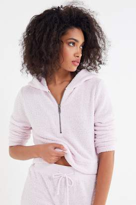 Out From Under Madison Marshmallow Half-Zip Hoodie Sweatshirt