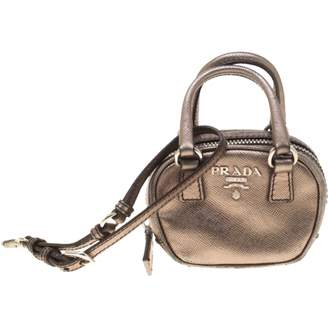 bb287a0698 Prada Metallic Leather Bags For Women - ShopStyle UK