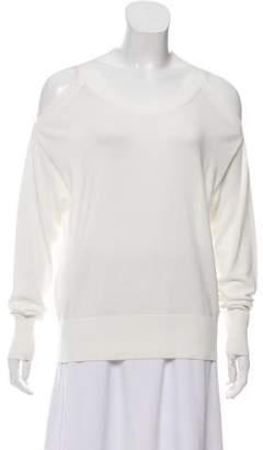 J Brand Long Sleeve Cold Shoulder Sweater