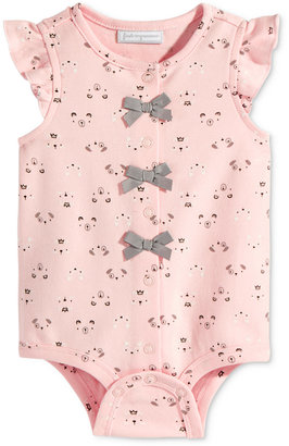 First Impressions Animal-Print Snap-Up Bodysuit, Baby Girls (0-24 months), Only at Macy's $5.98 thestylecure.com